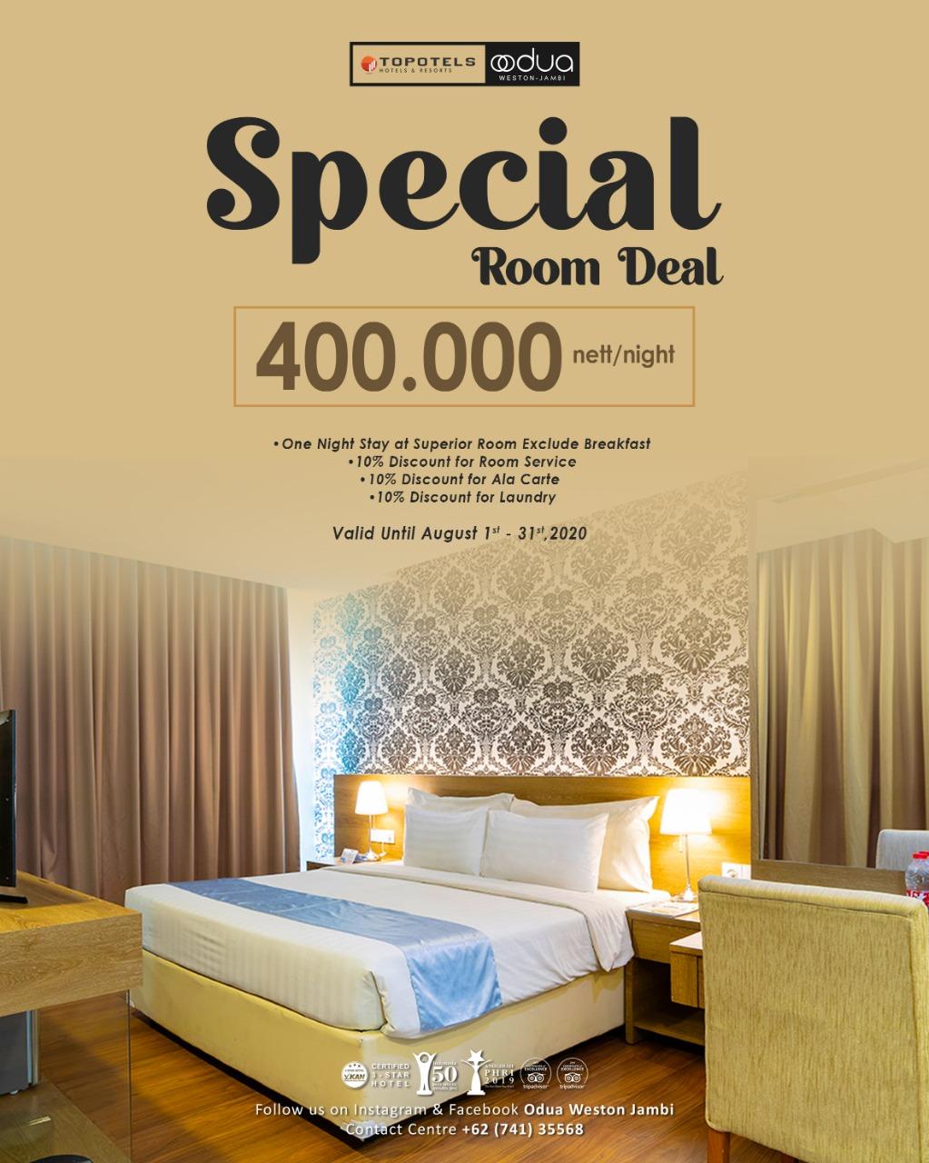 room deal