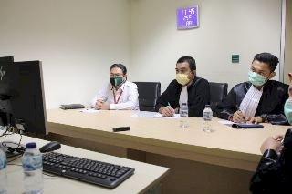 Lewat Video Conference Sukiman Dituntut 8 Tahun Penjara oleh Jaksa KPK Serta Harus Balikin Duit Negara