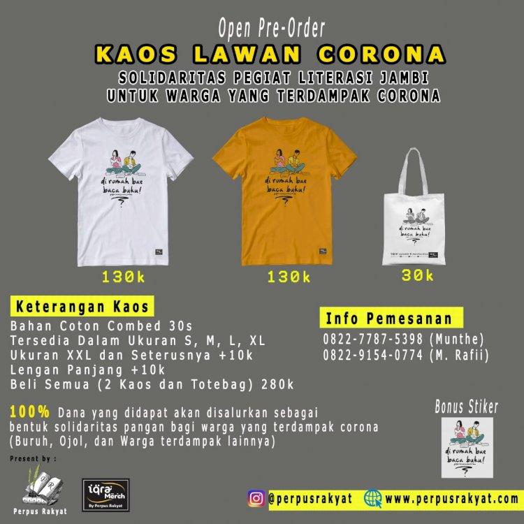 Ayo Donasi! Bantu Masyarakat Terdampak Corona di Jambi