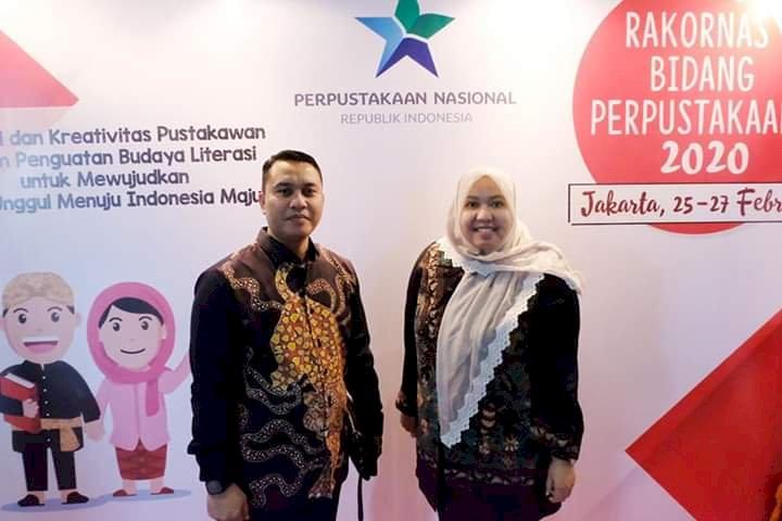 Bupati Masnah Hadiri Rakornas Bidang Perpustakaan di Jakarta
