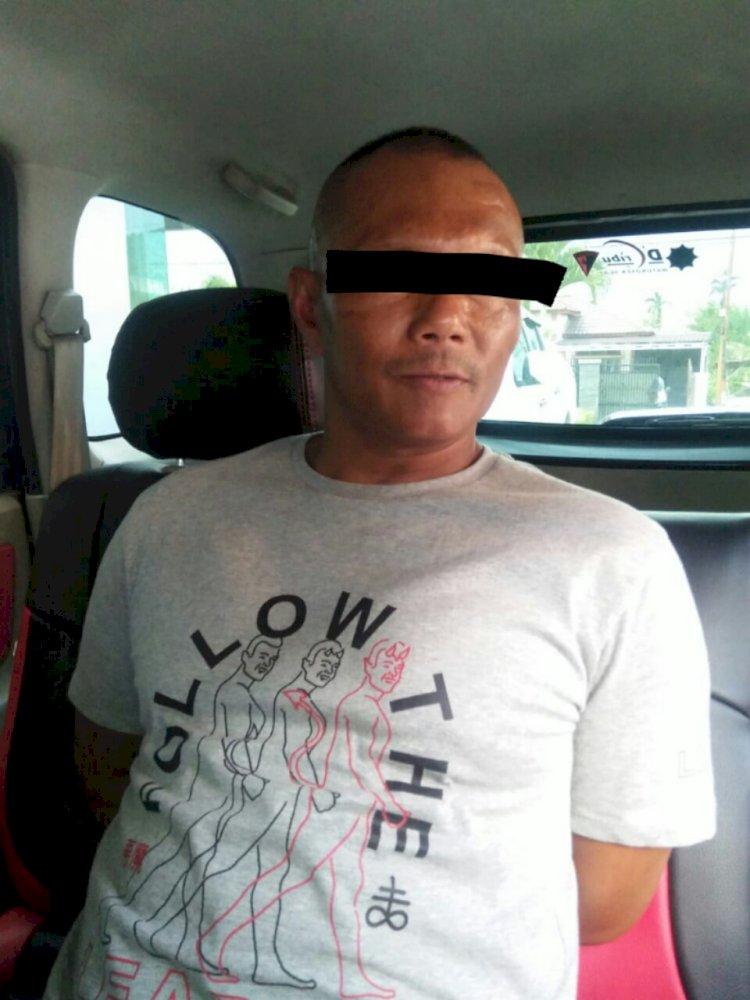Sedang Asyik Pakai Sabu, Warga Siulak Kerinci Ini Ditangkap Polisi