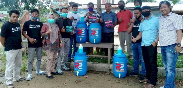 Aksi Nyata Pencegahan Covid-19 Tim R2 Berlanjut Ke Kecamatan Mendahara Ilir