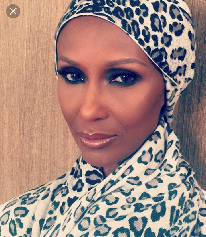Supermodel Iman Posting Berhijab Saat Puasa Pertama