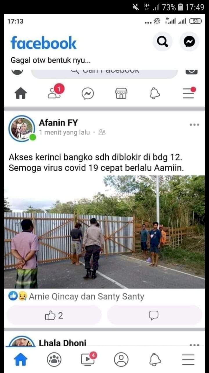 Kapolres Pastikan Pemblokiran Jalan Kerinci Bangko Hoax