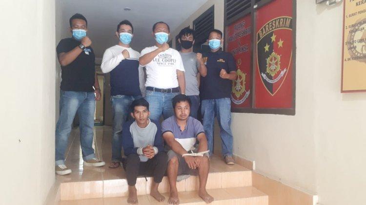 75 Kali Mencuri Motor, 2 Residivis di Kerinci Ini Ditangkap Polisi