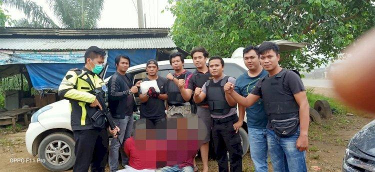 Polisi Bungo Ringkus Dua Warga Aceh Diduga Bawa Sabu Satu Kilogram