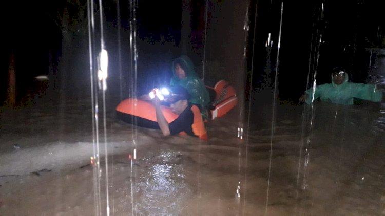 Diguyur Hujan Lebat, 3 Desa di Kecamatan Depati Tujuh Kerinci Ini Terendam Banjir