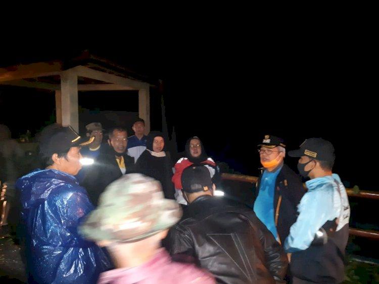 Wabup Ami Taher Pantau Banjir di Depati Tujuh Malam Ini