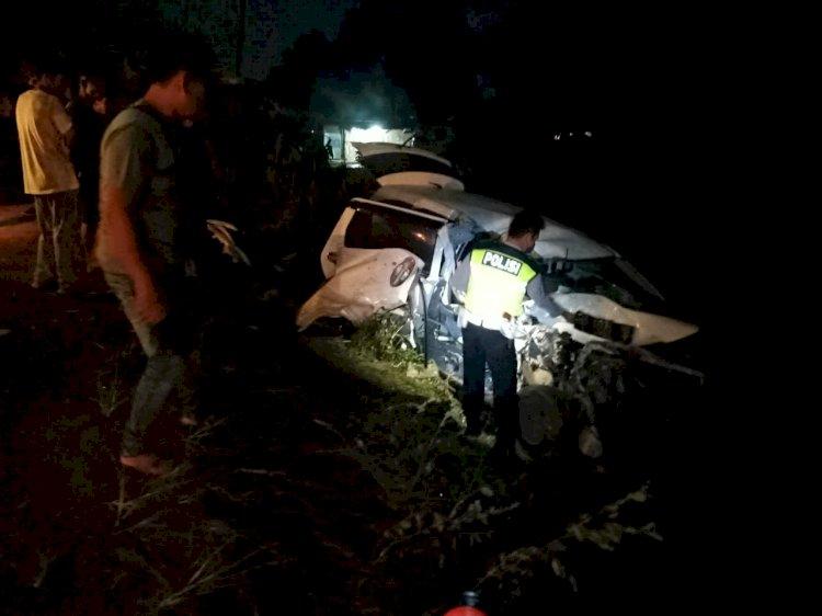 Kecelakaan di Muarojambi, 1 Oknum Polisi Tewas
