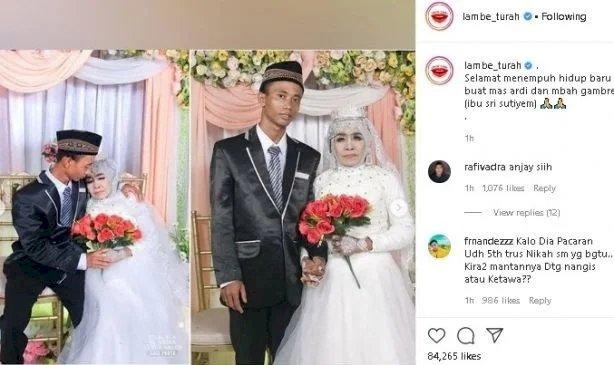 Mbah Gambreng Bikin Heboh, Nikahi Pemuda 25 Tahun Jadi Viral