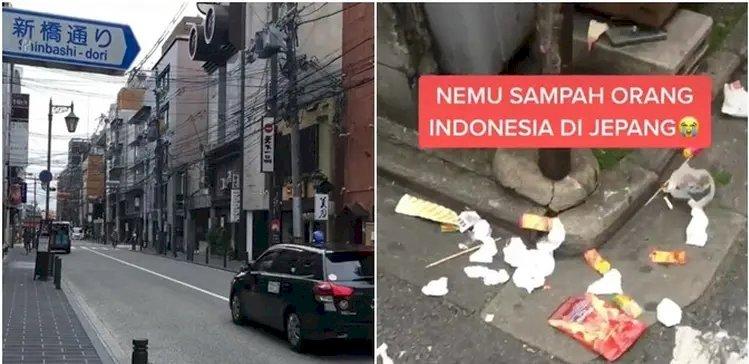 Viral, Pria Ini Temukan Sampah Bungkus Makanan Produk Indonesia di Jepang