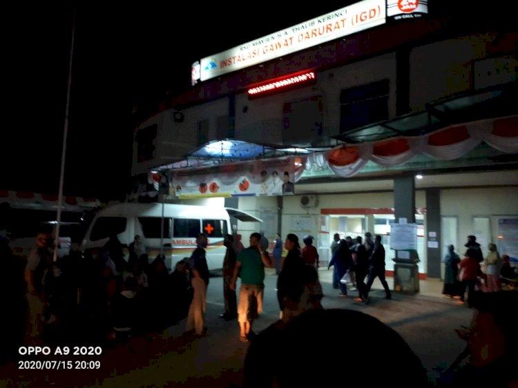 Pasien Terlantar Karena Rujukan, Pelayanan RSU MHA Thalib Kerinci Dikeluhkan