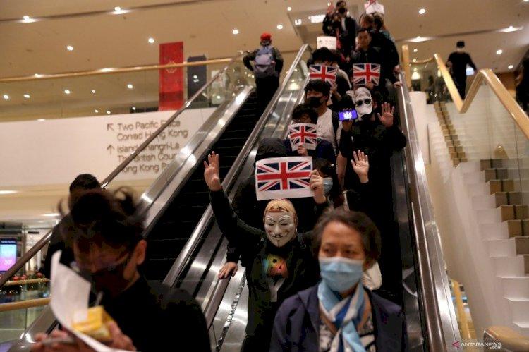 China Sebut Status WN Inggris untuk Hong Kong Langgar Hukum Internasional