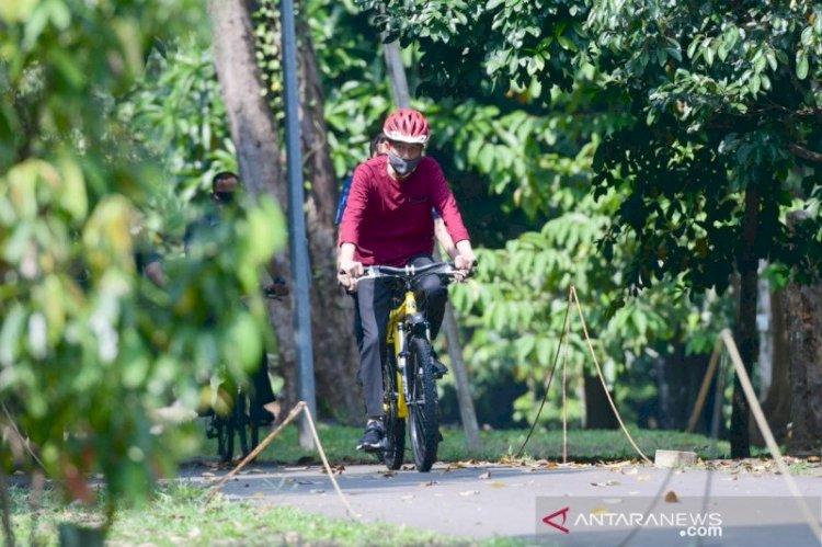Jokowi Pastikan Dirinya dan Ibu Negara Negatif COVID-19