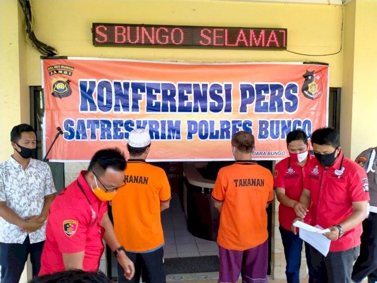 Polres Bungo Tetapkan Eks Anggota KPU Bungo Tersangka & Dijebloskan Penjara