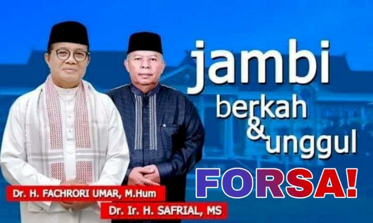 Bukan ke Fasha, Gerindra Rekomendasikan Fachrori-Safrial di Pilgub Jambi