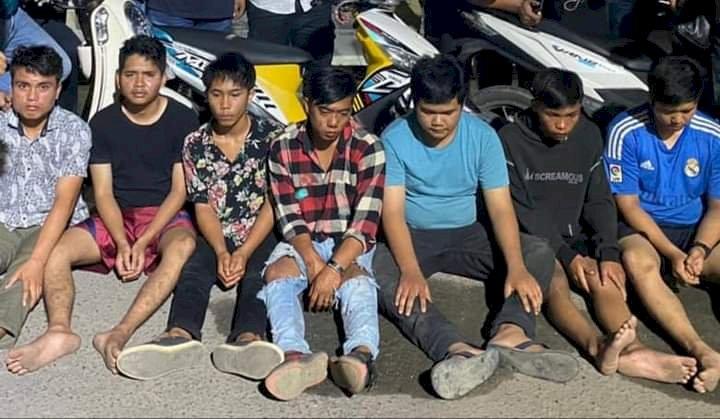 7 Pelaku Begal di Kerinci Ditangkap, 3 Diantaranya Pelajar