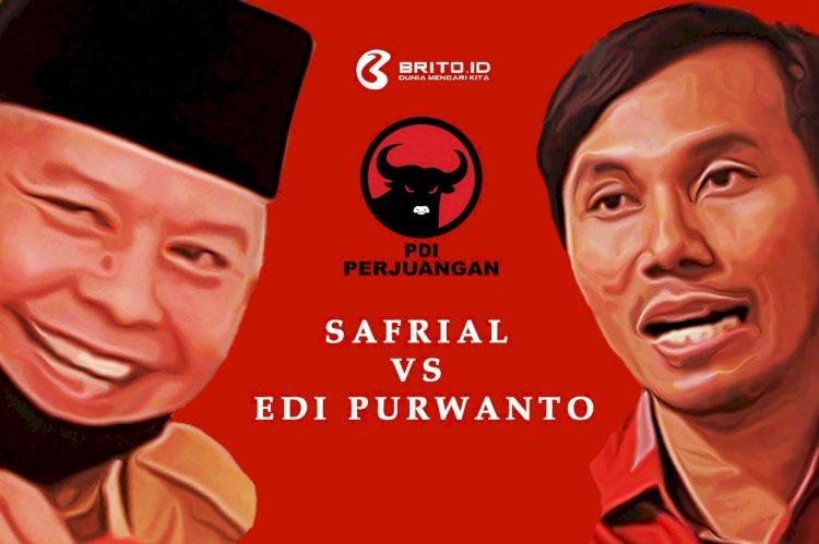 Rekomendasi PDIP di Pilgub Jambi: Adu Tuah Safrial VS Edi Purwanto