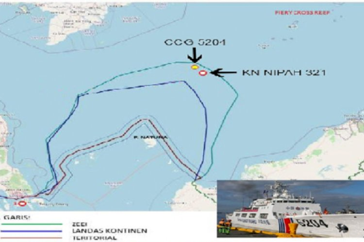"Guru Besar Ini Sebut Kapal Coast Guard China di ""ZEE"" tidak Berarti Masuk wilayah Kedaulatan Indonesia"