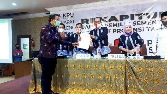 Pleno Rekapitulasi DPS Tingkat Provinsi Jambi, Setengah Juta Pemilih Dinyatakan Tidak Memenuhi Syarat
