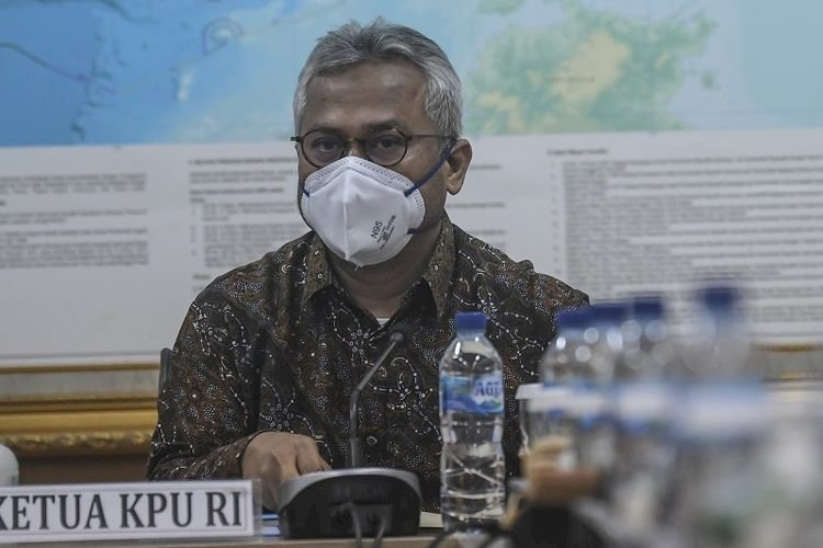 Ketua KPU Arief Budiman Terkonfirmasi Positif Covid-19