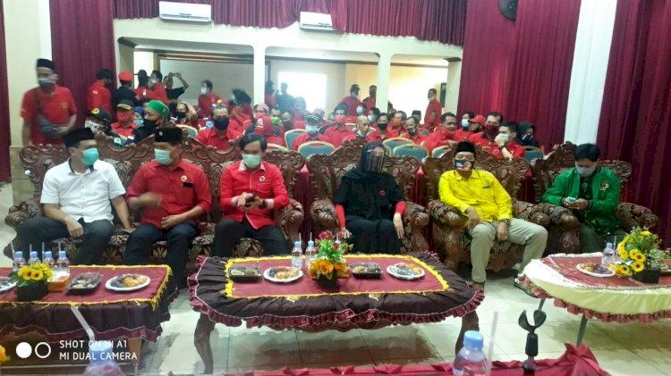 Edi Purwanto Minta Kader Solid Menangkan CE- Ratu dan Mulyani- Amin