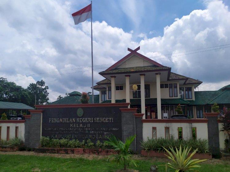 4 Pegawainya Terpapar Corona, Pengadilan Negeri Sengeti Ditutup