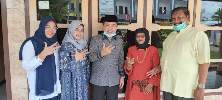 Mantan Wabup Bungo H Abdul Malik Dukung Penuh Haris-Sani