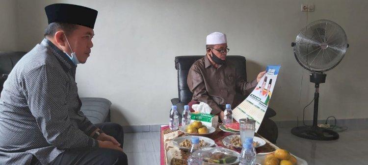 Sambangi Kediaman Pimpinan Ponpes Al-Ikhlas Bungo, Al-Haris: Do'akan Saya yang Terbaik