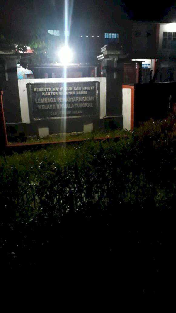 Tak Nafsu Makan, Napi Narkoba di Lapas Kualatungkal Meninggal