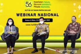 Menkes Duduki Kursi Diskusi Kesehatan yang Dipandu Puteri Komaruddin: Diskusinya Menarik
