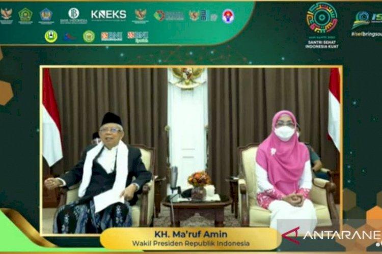 Ma'ruf Amin Inisiasi Gerakan Nasional Wakaf Tunai: Kita Libatkan Semua yang Mengaku Muslim