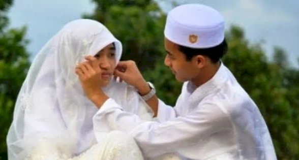 Viral Gadis 14 Tahun Ini Menikah Lantaran Bosan Sekolah Online, Begini Cibiran Netizen