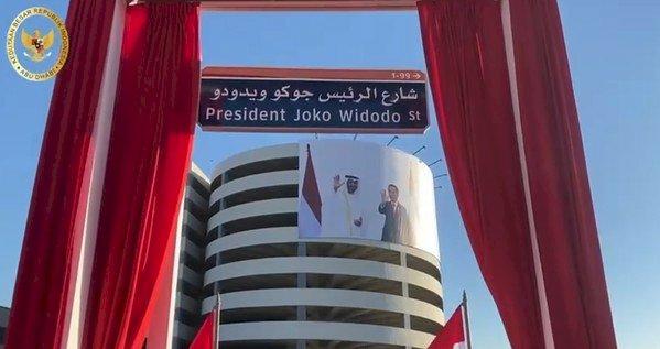 Diberi Nama Jalan, Jokowi Telepon Putra Mahkota Abu Dhabi: Terima Kasih!