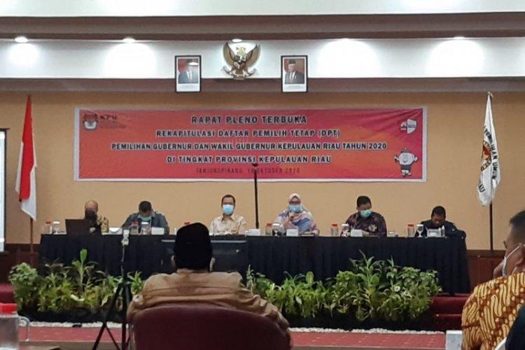Dua Anggota KPU Kepri Tertular COVID-19, Begini Riwayat Perjalanannya...