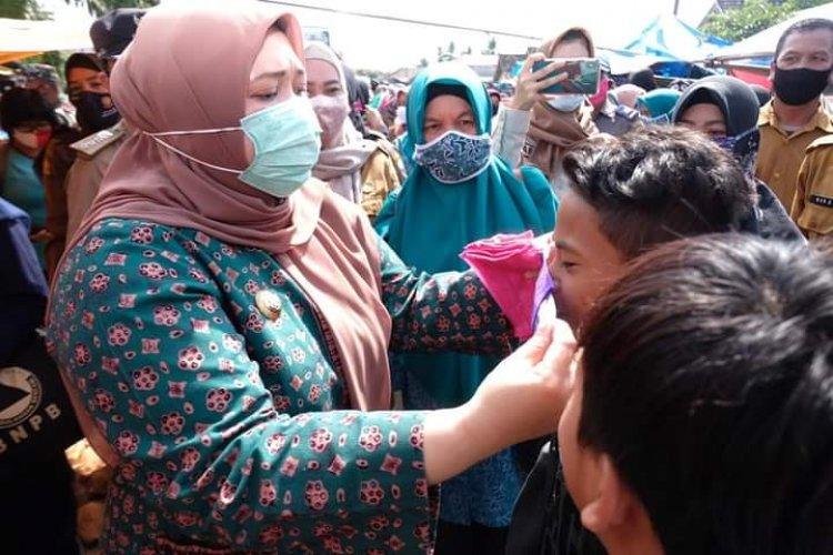 Pemkab Bakal Kucurkan Dana Bikin 100 Ribu Masker, Bupati : Tidak Pakai Masker Didenda