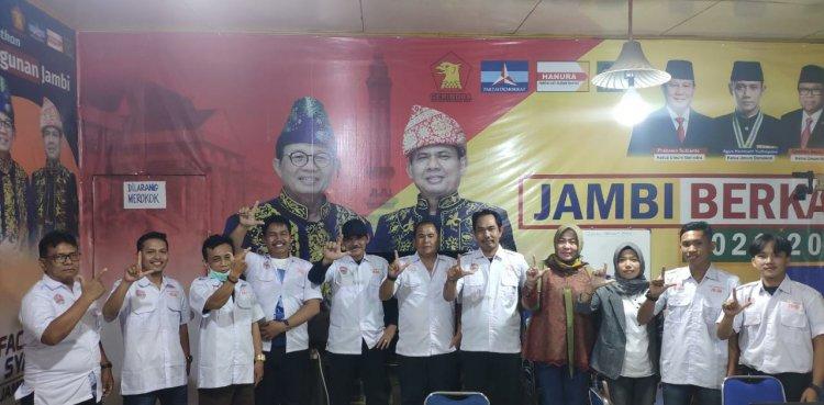 Ratusan Pengacara Perkuat Tim Pemenangan Fachrori- Syafril Nursal