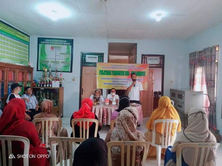 Normal Baru Saat Pandemi COVID-19, Kelurahan Bungo Barat Gelar Pelatihan Membuat Kue Dihadiri Emak-emak