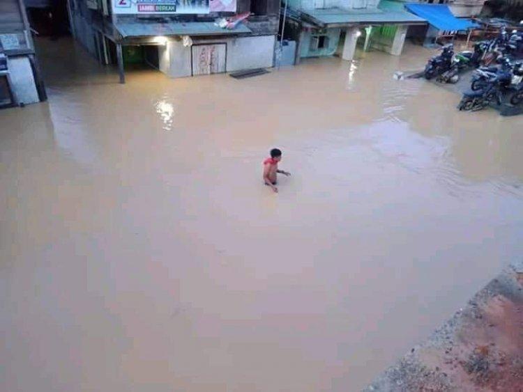 Banjir Rendam Rantau Duku Hingga Bedaro Bungo-Jambi