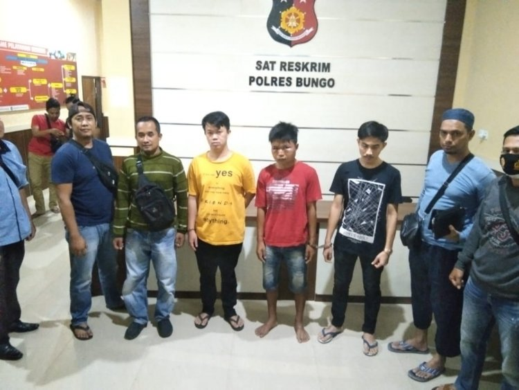 Ilham Dkk Tak Berkutik Saat Tim Spartan Bungo Meringkusnya Terkait Pembobolan SMPN 2
