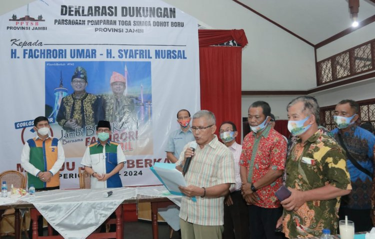 PPTSB Dukung Pasangan Fachrori Umar - Syafril Nursal