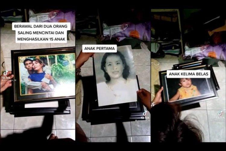 Viral! Suami Istri Punya 15 Anak, Netizen: Gen Halilintar Pun Kalah