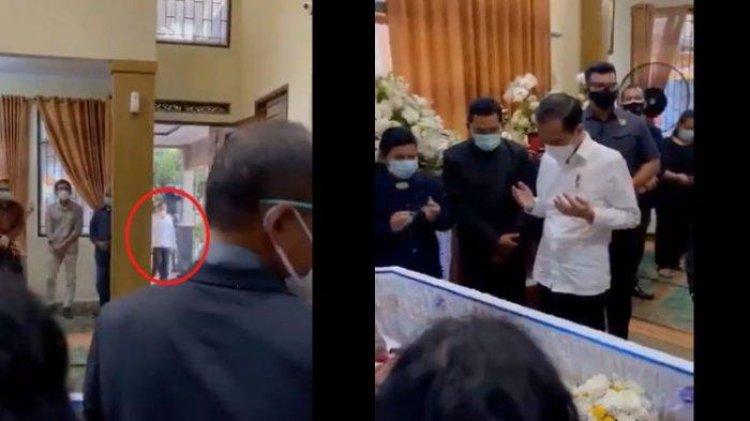 Lihat Tingkah Jokowi Masuk Rumah saat Melayat, Ajudan Malah Bingung