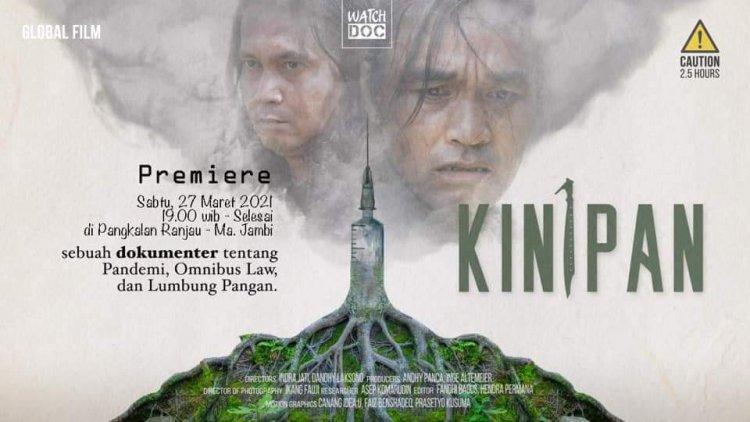 Film Kinipan Diputar di Jambi, Mengisahkan Perjuangan Rakyat Pertahankan Hutan