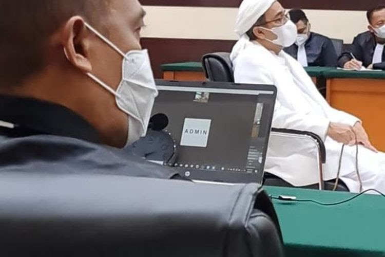 Rizieq Shihab Klaim Sudah Bayar Rp50 Juta dan Minta Kasusnya Dihentikan, Hakim: Bukan Sanksi dari Lembaga Peradilan