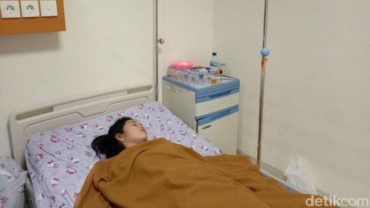 Echa Gadis Cantik Ini Seminggu Tertidur dan Belum Terbangun, Ingin Berjumpa Jokowi