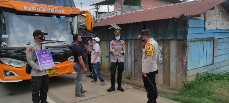 Bawa Pemudik, 4 Bus Disuruh Putar Balik di Perbatasan Palembang- Jambi