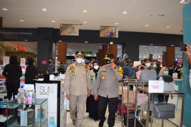 Jelang Lebaran, Kapolda dan Walikota Jambi Cek Kesiapan Pusat Perbelanjaan