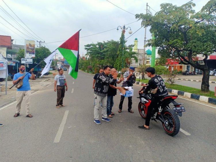 Aksi Solidaritas di Bungo, Bocah Ini Rela Berikan THR-nya untuk Anak-anak Palestina