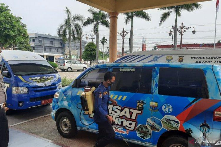 Sejumlah Petugas Positif Covid-19, Samsat Jambi Ditutup Sementara